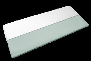 Topper Classic mit halbem Bezug und Sicht auf Komfortschaum